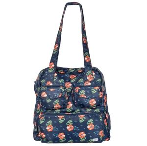 Lug Puddle  Jumper Packable Tote In Aloha Navy